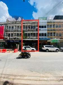 For SaleShophouseKorat KhaoYai Pak Chong : Commercial buildings for sale, commercial buildings for sale Korat town 504 sq m. 34 sq. Wa