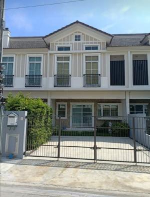 For RentTownhouseBangna, Lasalle, Bearing : Beautiful Bangna townhome for rent.