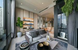 ขายคอนโดสีลม ศาลาแดง บางรัก : ขาย 2 ห้องนอน ราคาถูกสุด Ashton Silom ราคา 14.9 ล้านบาท ห้องใหม่ ติดต่อ 0869017364