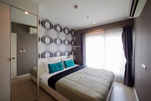 For RentCondoOnnut, Udomsuk : Condo for rent Aspire Sukhumvit 48  Type 1 bedroom 1 bathroom Size 38.2 sq.m. Floor 26