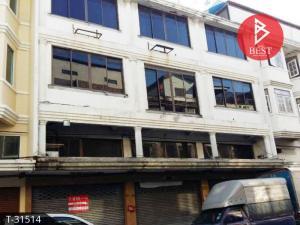For SaleShophouseVipawadee, Don Mueang, Lak Si : Quick sale, 3.5-storey commercial building, village graduate home Vibhavadi Rangsit 76
