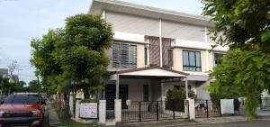 For RentTownhouseSamrong, Samut Prakan : Townhome for rent, Modivilla Bangna, Near Assumption University Bangna