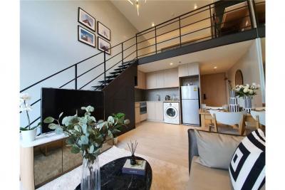 For SaleCondoSilom, Saladaeng, Bangrak : The Lofts Silom Duplex 1 bed 1 bath