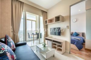 For RentCondoOnnut, Udomsuk : 1-bedroom at Ideo Verve Sukhumvit for rent near On Nut BTS (Owner)