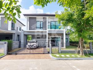 For RentHousePattanakan, Srinakarin : (For rent) ** Modern single house, The City Pattanakarn project, new house, hand 1 (never lived in)
