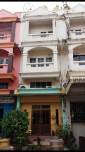 For SaleShophouseRama 2, Bang Khun Thian : Commercial building for sale, good location, peaceful residence, can do office or small factory
