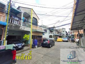 For SaleTownhouseVipawadee, Don Mueang, Lak Si : Townhouse 16 sq. Wah, Phiphon Phong Village, Soi Vibhavadi 84