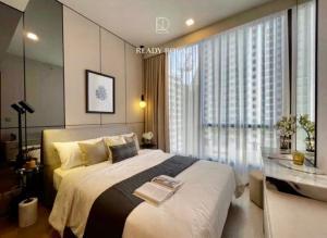 For RentCondoSukhumvit, Asoke, Thonglor : POJ 290 For rent, Celes Asoke, a luxury condo on Asoke Montri road, near BTS Asoke and MRT Sukhumvit, new room, beautiful decoration, modern style, cozy and warm, fully furnished.