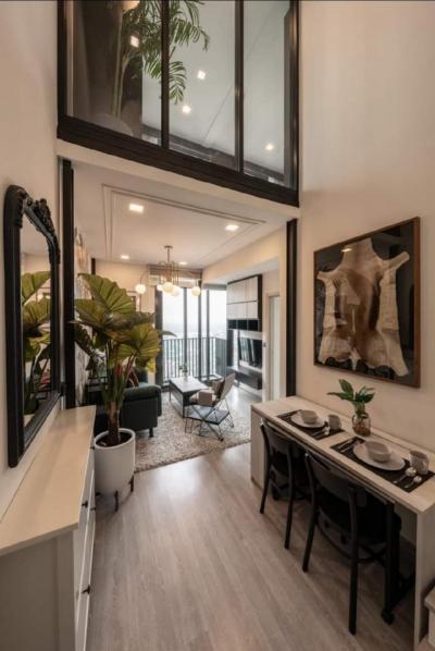 For RentCondoOnnut, Udomsuk : Urgent Rent ++ High Floor ++ Duplex Condo ++ Line 101 Sukhumvit ++ Available @ 29000 🔥 ++ BTS Punnawithi 🚅