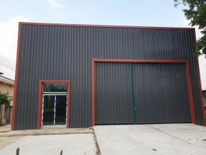 For RentWarehouseRangsit, Patumtani : Warehouse for rent, area 400 square meters, external usable area 200 square meters, Nong Suea Khlong Sip, Pathum Thani
