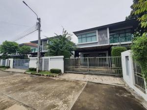 For SaleHouseChengwatana, Muangthong : 2 storey luxury detached house for sale, behind the corner of 79 square wa. Setthasiri Village Chaengwattana-Prachachuen, beautiful decoration, cheapest sale, cheaper than the project