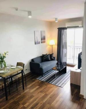 For RentCondoBangbuathong, Sainoi : Condo for rent, The Iris Westgate Bangyai, new room, near IKEA Bang Yai Central Westgate, area 32 sq m, 1 bedroom, 1 bath, 4th floor, good view, nature, no block