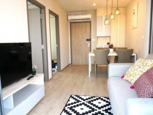 For RentCondoBangna, Lasalle, Bearing : Idei O2, big room, 2 bedrooms, ready to rent.