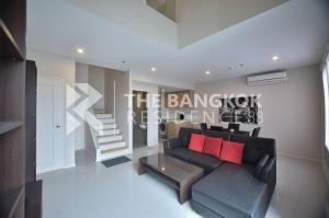 เช่าคอนโดพระราม 9 เพชรบุรีตัดใหม่ : 1Bed Duplex 80Sq.m. Rent 30K Villa asoke.♡♡♡