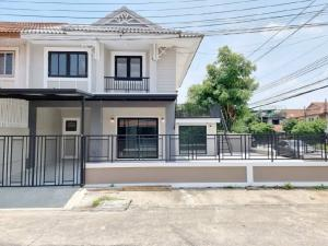 For SaleTownhouseBangbuathong, Sainoi : 🔰 10 Pruksa Village, the corner of the main street, can trade