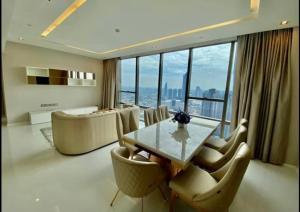 For RentCondoSathorn, Narathiwat : +++ Urgent rent +++ The Bangkok Sathorn ** 2 bedrooms, 119.47 sq m, fully furnished.