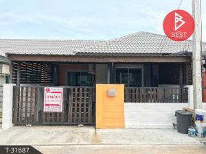 For SaleTownhouseChachoengsao : Single storey townhouse for sale. Baan Suay Plus Baan Pho project near Klong Si Non Station