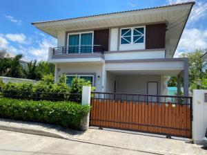For SaleHouseRathburana, Suksawat : 2 storey detached house for sale, Supalai project Garden Ville Pracha Uthit - Suksawat