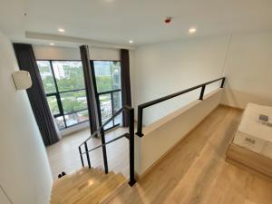 For SaleCondoRattanathibet, Sanambinna : Hot Deal 🔥 Knightsbridge Tiwanon, new duplex room, 46.32 Sqm, 16th floor, garden view, fully furnished, ready to move in.
