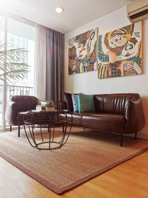 เช่าคอนโดวงเวียนใหญ่ เจริญนคร : Urgent Rent ++ Fine @ River Condo ++ High Floor ++ Fully Furnished ++ Balcony++ 25000 🔥