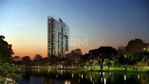 For RentCondoWitthayu,Ploenchit  ,Langsuan : Condo for sale and rent, Super luxury 185 Ratchadamri, 2 bedrooms, high floor.