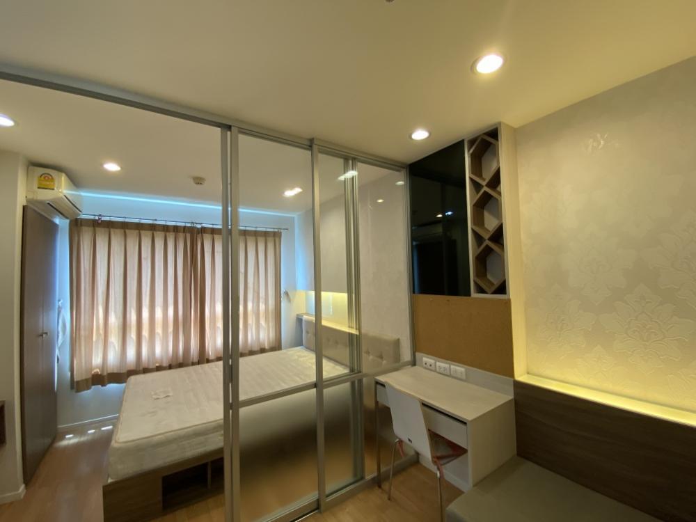 For RentCondoSeri Thai, Ramkhamhaeng Nida : Quick rent! Lumpini Ville Ramkhamhaeng 60/2 size 27 sq.m. Building A