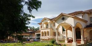 ขายบ้านบางนา แบริ่ง : Big house for sale Sukhumvit-Bangna
