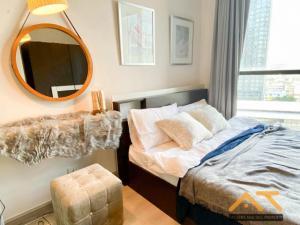 For RentCondoWongwianyai, Charoennakor : For rent Ideo Mobi Sathorn , Studio, size 21 sq.m., Beautiful room, fully furnished.