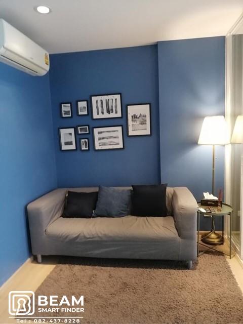 For RentCondoRamkhamhaeng, Hua Mak : TB002_M😍Condo The Base Rama 9-Ramkhamhaeng fully furnished, light rental price