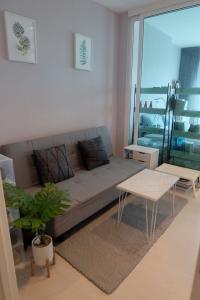 For SaleCondoSamrong, Samut Prakan : Condo for sale, Aspire Erawan, 1 bedroom 29.77 sqm., 10th floor, fully furnished, good location in front of BTS Chang Erawan