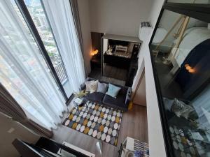 เช่าคอนโดสะพานควาย จตุจักร : ✅ให้เช่า Duplex 1ห้องนอน 1ห้องน้ำ  ขนาด 40 ตร.ม. ชั้น 19 เฟอร์นิเจอร์ครบ พร้อมเข้าอยู่  ราคาเช่า 18,000 บาท/เดือน