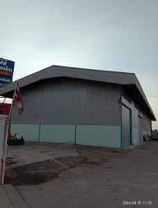For RentWarehouseBangbuathong, Sainoi : Warehouse for rent, usable area 700 sq m, Bang Bua Thong, Nonthaburi, next to road 345