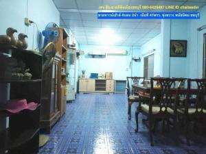 For SaleTownhousePattaya, Bangsaen, Chonburi : Townhouse for sale, area 47 sq m, 4 bedrooms, 2 bathrooms, Thung Khwang, Phanat Nikhom, Chonburi.