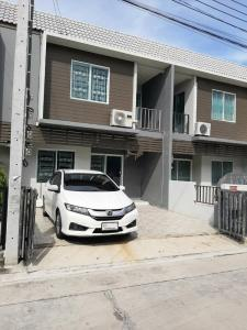For RentTownhouseBangbuathong, Sainoi : For rent Tor/H in Sai Noi area 💢 Areeya University, fully furnished, ready to move in, near Sai Noi Hospital, for rent 9,000 baht/month