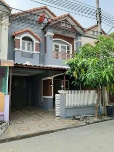 For RentTownhouseBangbuathong, Sainoi : For rent, Tor/H, Ton Soi, Lat Pla Duk Temple 💢 Silpakorn University Park 4, empty house, 1 air conditioner + water pump