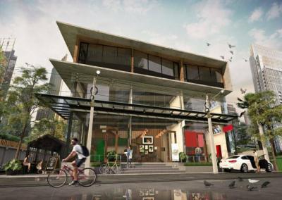 For RentRetailSukhumvit, Asoke, Thonglor : Shop house for rent, Sukhumvit 49, Thonglor