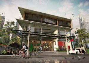 For RentShowroomSukhumvit, Asoke, Thonglor : Shop house for rent, Sukhumvit 49, Thonglor
