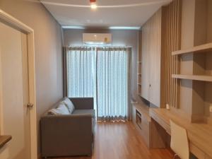 For RentCondoRama3 (Riverside),Satupadit : Rent 🎈🔥, beautiful room, 19th floor, built-in whole room, Lumpini Place Ratchada-Sathu project
