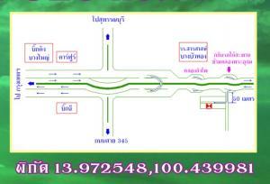 For RentLandBangbuathong, Sainoi : For Rent - Land for sale Bang Bua Thong area, good location