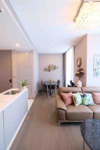 For RentCondoRama9, RCA, Petchaburi : Condo for rent The Esse at Singha Complex Type 1 bedroom 1 bathroom Size 47.75 sq.m. Floor 29