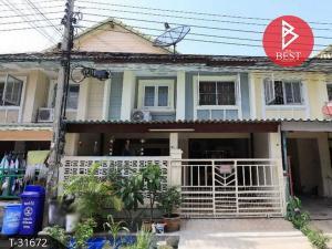 For SaleTownhouseSamrong, Samut Prakan : Urgent sale, Townhouse Pruksa 15, Bang Phli-Tamru, Samut Prakan.