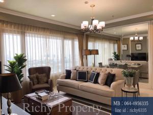 For RentCondoWitthayu,Ploenchit  ,Langsuan : For sale, rent, Amanta Lumpini, Amanta Lumpini 2 bedrooms, 97 sq m, fully furnished.