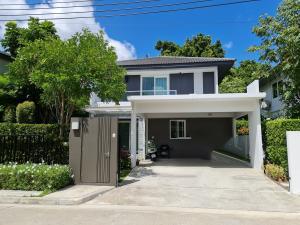 ขายบ้านบางนา แบริ่ง ลาซาล : สวยกว่าบ้านตัวอย่าง รีบขายขาดทุนจ้า!!! บ้านเดี่ยว มัณฑนา อ่อนนุช วงแหวน 5 (Manthana Onnuch) ติดถนนวงแหวน ใกล้ MEGA + IKEA บางนา / บ้านคุณภาพ จาก Land & House  (68157)