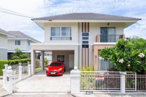 ขายบ้านเชียงใหม่ : ขายบ้านเดี่ยวพร้อมเข้าอยู่ ในโครงการกาญจน์กนกวิลล์10 ต.สันผักหวาน อ.หางดง