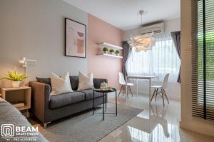 For RentCondoOnnut, Udomsuk : A002_N💖😍A space Sukhumvit 77 Rent 8,000 furniture + complete electrical appliances Can carry the bag and move in 💖😍