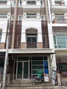 For RentTownhouseKaset Nawamin,Ladplakao : NA-H5038 4-storey townhouse for rent, Premium Place Nawamin - Ladprao 101.