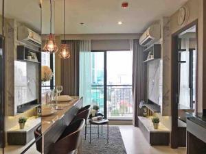 For SaleCondoRama9, Petchburi, RCA : Condo for sell Rhythm Asoke Type 1 bedroom 1 bathroom Size 31 sq.m. Floor 12
