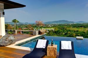 For SaleHousePhuket, Patong : 3 Stunning sea view pool villas and 1 penthouse for Sale