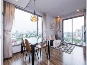 For RentCondoSukhumvit, Asoke, Thonglor : Condo for rent CEIL by sansiri Type 1 bedroom 1 bathroom Size 46 sq.m. Floor 14