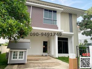 For SaleHouseSamrong, Samut Prakan : House for sale Perfect Place Sukhumvit 77 - Suvarnabhumi Phase 6 new house